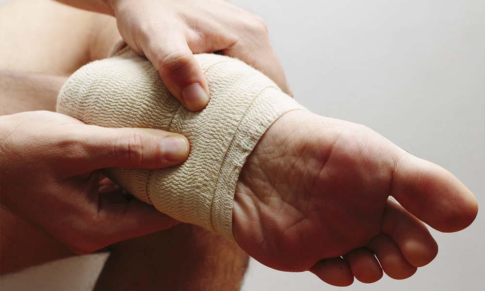 足底筋膜炎について